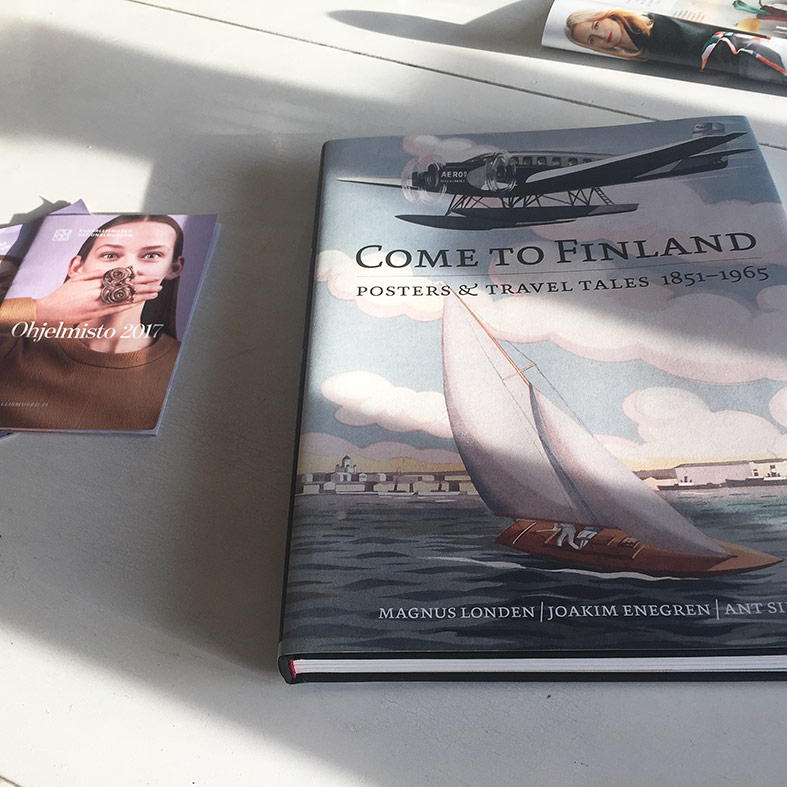 Come to Finland poster book
